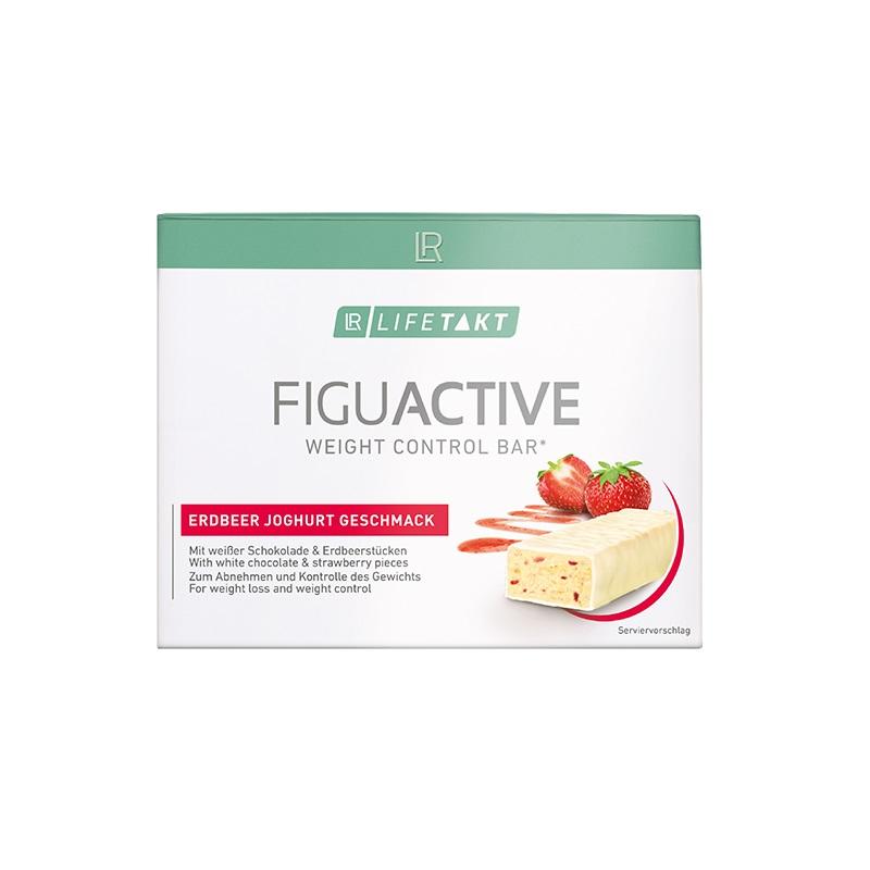 LR LIFETAKT Figu Active Tyčinka s jahodami a jogurtom