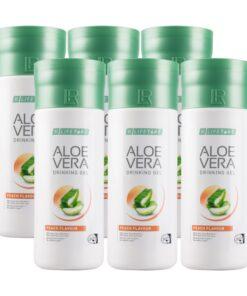 LR LIFETAKT Aloe Vera Drinking Gel s príchuťou broskýň séria 6 ks