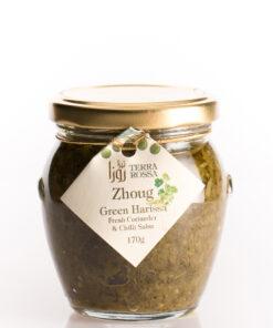 Salsa-Zhoug-zelená-Harissa-170g-Gourmet-Artisan