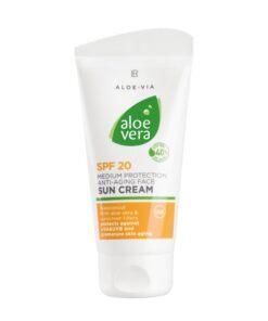 Aloe Vera Anti-Aging Opaľovací krém SPF 20