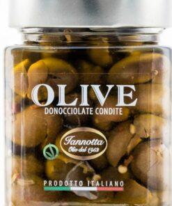 Zelené-olivy-vykôstkované-v-olivovom-oleji-320g-Iannotta-Gourmet-Artisan-600×600