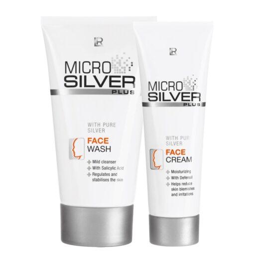 Pleťová séria Microsilver Plus
