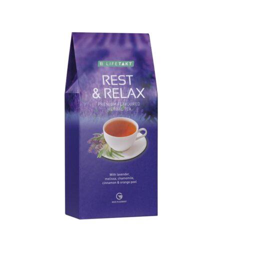 Rest & Relax bylinný čaj s príchuťou